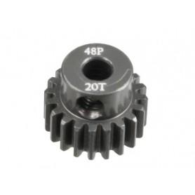 Pignon acier 48DP 20dts 51620 Topcad
