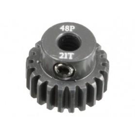 Pignon acier 48DP 21dts 51621 Topcad