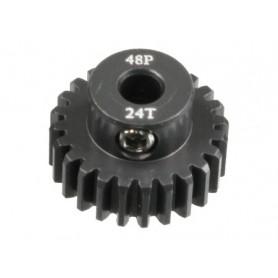 Pignon acier 48DP 24dts 51624 Topcad