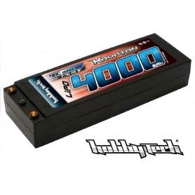 Batterie Lipo 7,4V 4000 mah 40C 2S Hobby Tech