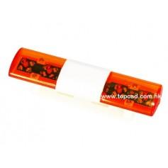 Rampe lumineuse d'intervention orange 56368 Topcad
