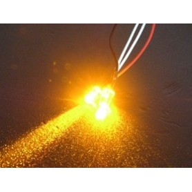Leds flash 3mm orange 3RAC-FLD03/OR 3racing