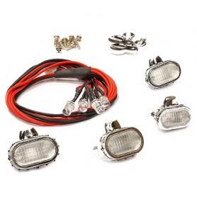 Projecteurs ovales + leds C24620Y Integy