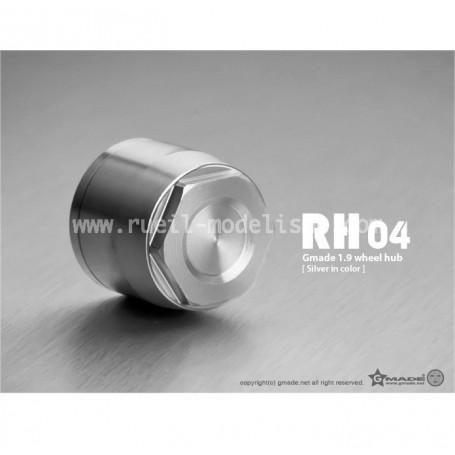 Bouchons + écrous fixation de roues silver GM70142 Gmade