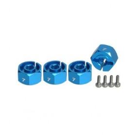 Hexagones de roues 7mm 3RAC-WX127/LB 3racing
