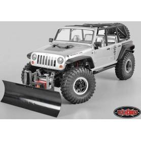 Lame à neige en aluminium et acier Z-X0007 RC4WD