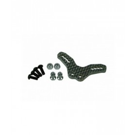 Support amortisseurs AV carbone M06 M06-01/WO 3racing