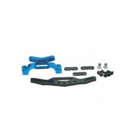 Support amortisseurs AR carbone M06 M06-03/WO 3racing