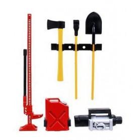 Assort. d'accessoires pour truck 80112 Topcad