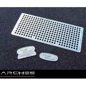 Grille d'aération trous carrés Defender D90 AGDQA05 Arches