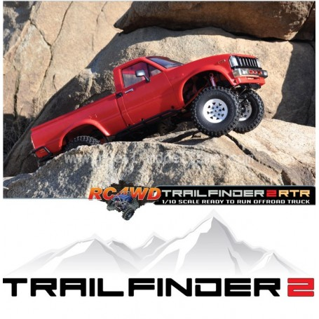 Trail Finder 2 TF2 RTR Z-RTR0019 RC4WD