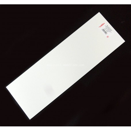 Plaque ABS 1.5mm 5101 Robbe