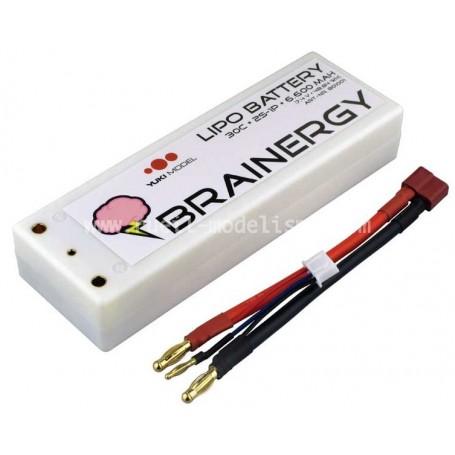 Batterie Lipo 7,4V 6500 mah 60C 2S Hobby Tech