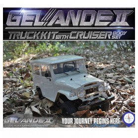 Gelande II + carrosserie Cruiser Z-K0051 RC4WD