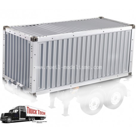Container 20 pieds aluminium 140411 Truck tech