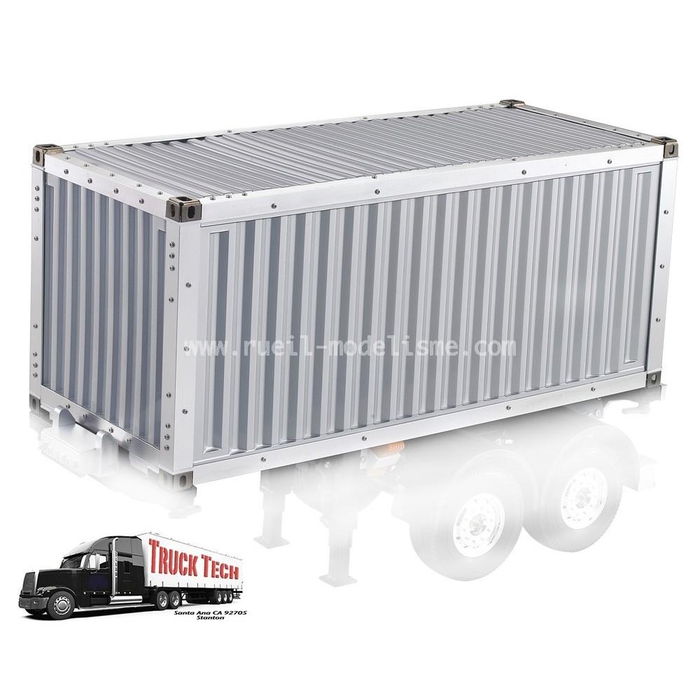 container 20 pieds 140407a truck tech rueil modelisme. Black Bedroom Furniture Sets. Home Design Ideas
