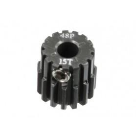 Pignon acier 48DP 15dts 51615 Topcad