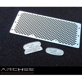 Grille d'aération ovale Defender D90 AGDEA05 Arches