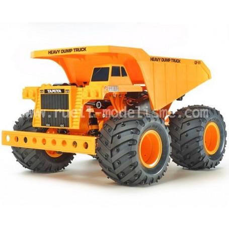 Heavy Dump Truck - GF01 1/24e 58622 Tamiya