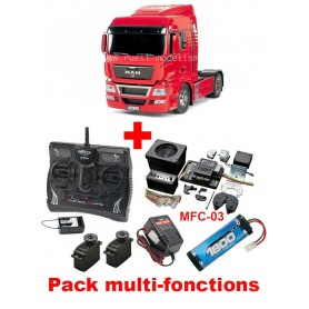 MAN TGX 18.540 4X2 56329 Tamiya PACK MULTI