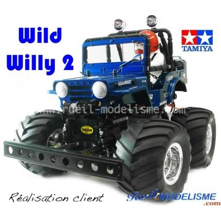 Wild Willy II (58242) Tamiya