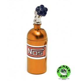 Bouteille NOS orange 1/10e 099 Snake Race