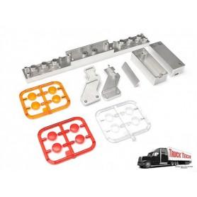 Pare-chocs AR remorque phares ronds TT0034A Truck Tech