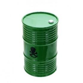 Bidon peint vert 80132G Topcad