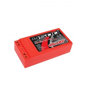 Lipo 7,4V 4500 mah 45C 2S shorty 48273 Corally