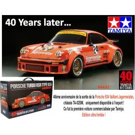 Porsche  934 JÄGERMEISTER 40e anniv. 84431  Tamiya