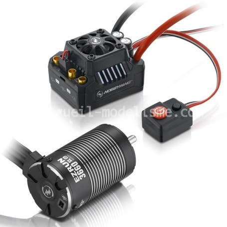 COMBO EZRUN MAX10 SCT 120Amp 3660SL 4600KV HW38010202 Hobby Wing