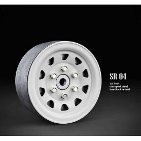 Jantes lourdes beadlock 1.9 SR04 acier GM70497 GMade