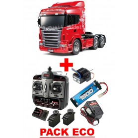 Scania R620 6x4 highline 56323 Tamiya PACK ECO