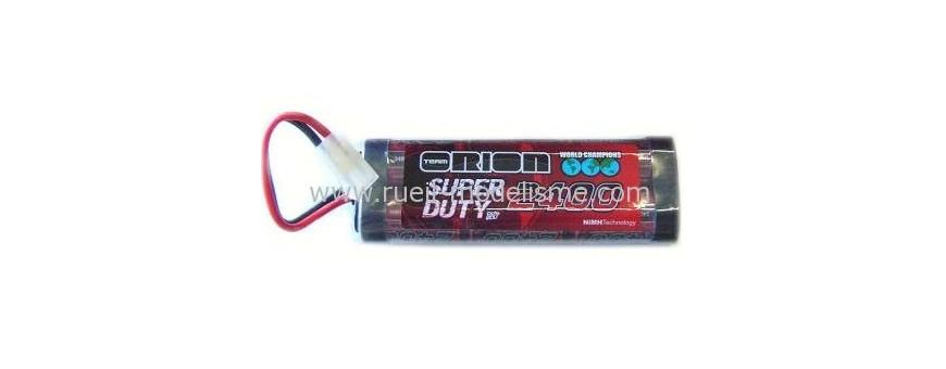 Batteries 7,2V - 8,4V nimh