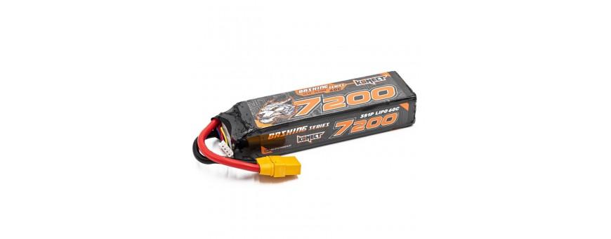 Batteries 7,4V  11,1V Lipo