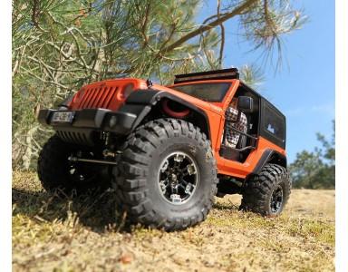 Jeep Wrangler sur base de châssis Topcad