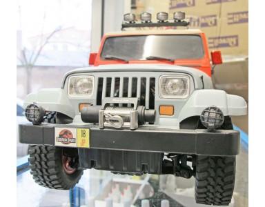 Tamiya CC01 Jeep Wrangler version Jurassic park