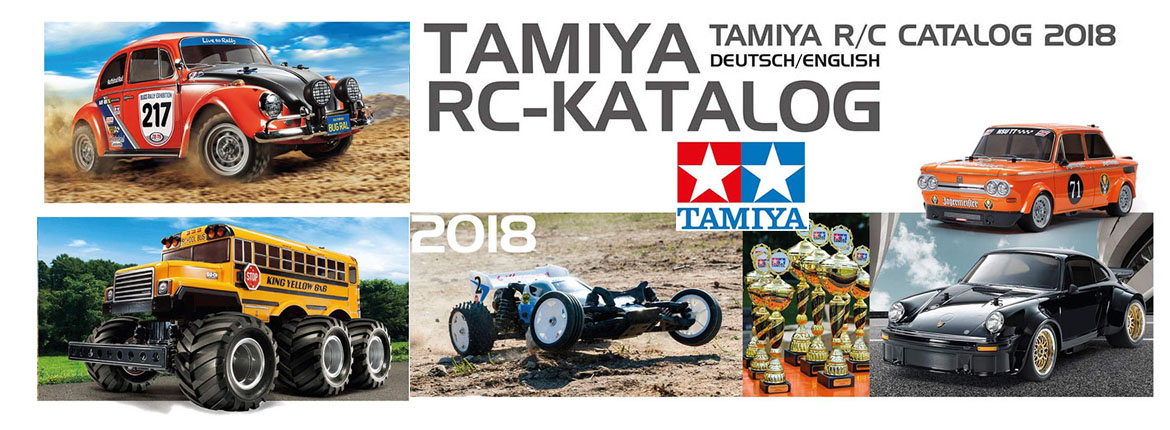 Catalogue Tamiya 2018