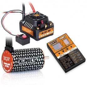 COMBO BRUSHLESS 1/10 80Amp WP + Moteur 4P 3660SL 2750KV KN-COMBO-C1 Konect