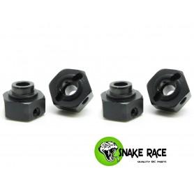 Hexagones de roues 5mm XP S Snake Race
