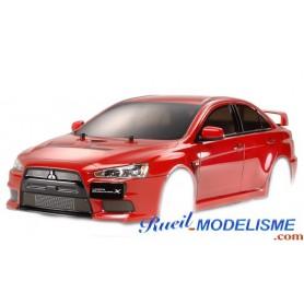 carrosserie-mitsubishi-evolution-x-leds-51376-tamiya