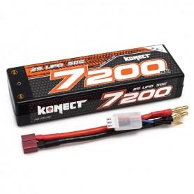 Lipo 7,4V 7200 mah 50C 2S Konect