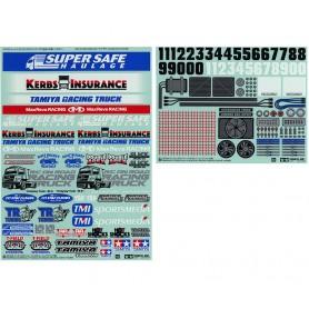 Autocollant Racing Truck 54844 Tamiya