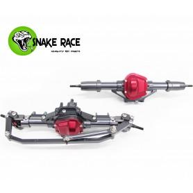 Ponts complets AV / AR SCX10 D90 510 Snake Race