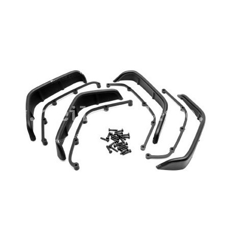 Extensions d'ailes type Jeep Rubicon 80180bk Topcad