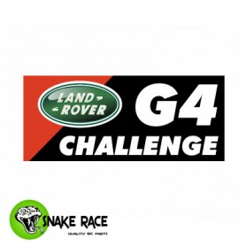 Plaques Land Rover G4 Challenge 0677 Snake Race