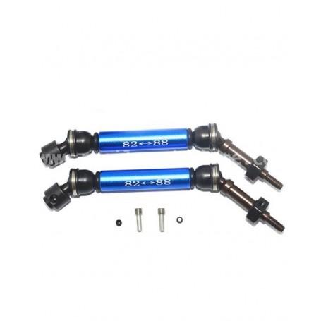 Cardans AV acier Slash 4x4 Traxxas SSLA1280FH-B GPM