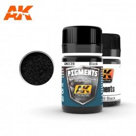 Pigment noir AK039 AK INTERACTIVE