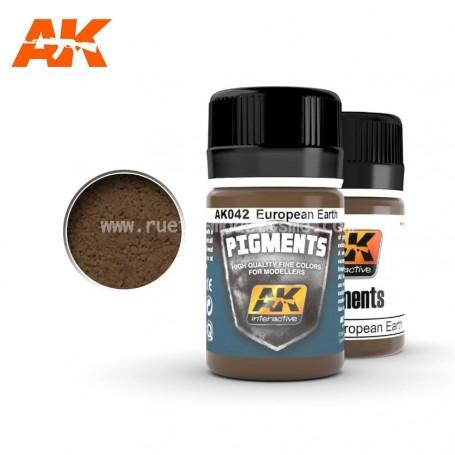 Pigment terre europe AK042 AK INTERACTIVE