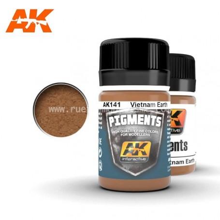 Pigment terre Vietnam AK141 AK INTERACTIVE